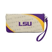 Little Earth 100902-LSU NCAA Curve Zip Organizer Wallet - LSU Tigers - £27.02 GBP