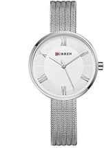 CURREN Women Quartz Roman Scale Watches With Mesh Steel Band Waterproof Day For - $49.95
