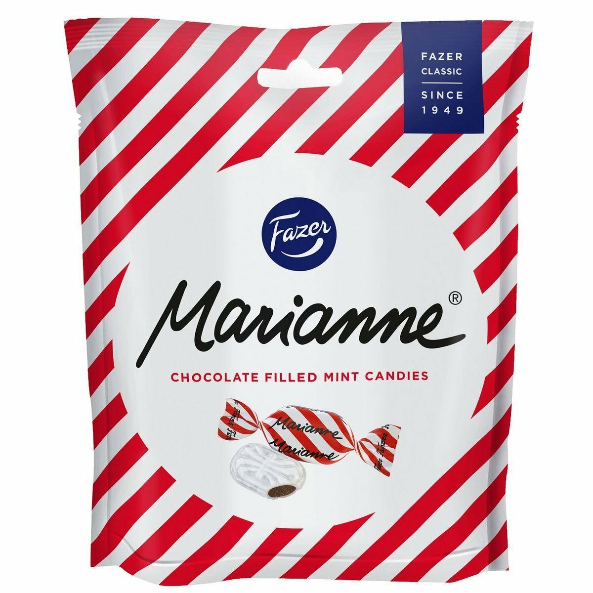 Primary image for Marianne peppermint Candies Filled with Chocolate 220 g