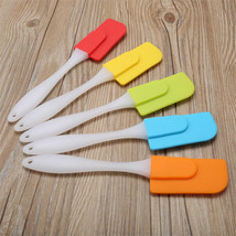 Silicone Cake Spatula Small Size Butter Scraper Heat Resistant Baking Tool - $2.61 CAD