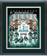 Philadelphia Eagles Super Bowl LII Champions-11x14 Matted/Framed Photo C... - $42.95
