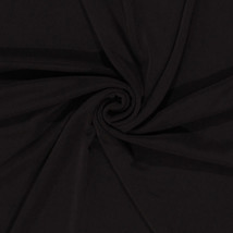 Slinky 4-Way Stretch Polyester Lycra Brown Fabric by the Yard D446.07 - $8.99