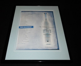 2004 Belvedere Vodka Framed 11x14 ORIGINAL Vintage Advertisement - $32.36