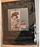 Museum of Fine Arts Boston EYEGLASS CASE Needlepoint Kit LITTLE MISS HON... - $29.65
