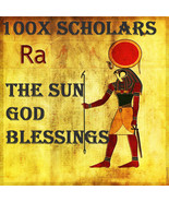 100X 7 SCHOLARS THE SUN GOD BLESSING DUES RA EXTREME MAGICK RING PENDANT - $99.77