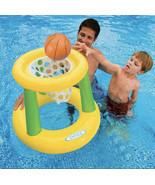 Intel Floating Basketball Hoop Inflatable Swimming Pool Game (as) - $79.19