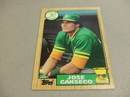 1987 Topps #620 ROOKIE CUP Jose Canseco -Oakland Athletics- - $3.12