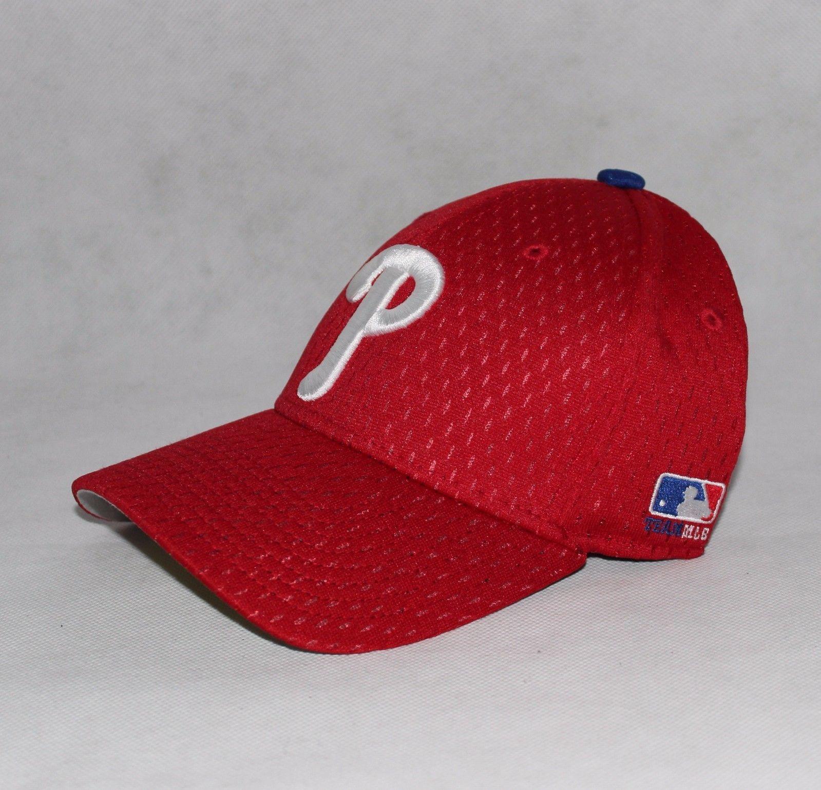 e3568b3b5ce New Philadelphia Phillies MLB replica Baseball Hat Cap OC Sports Adult Red