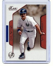 DON MATTINGLY - NEW YORK YANKEES - 2003 FLEER - FLAIR GREATS - CARD  #81 - $4.95