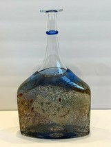 "Kosta Boda Bertil Vallien Signed and Numbered 12"" Satellite Bottle Vase ... - $147.51"