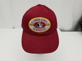 Florida State Seminoles Baseball Cap Trucker Hat Annco Adjustable 100% C... - $15.47