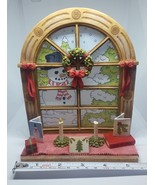 Our America Windows of Our America Sweet SNOWMAN Votive Holder Christmas... - $16.82