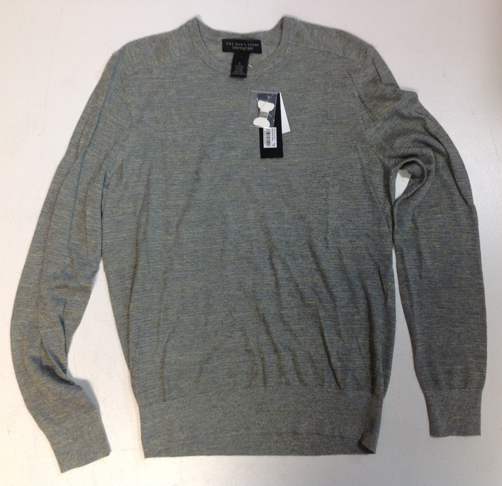 The Men's Store at Bloomingdale's Cotton Linen Space Dyed Sweater, Size S, $98