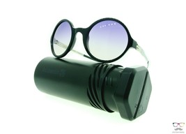 ic! berlin Sunglasses Ever So Hip Pearl Black Obsidian /Black Clear Roun... - $95.79