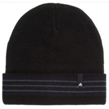 Adidas - Men's Climawarm Beanie - Black - Core Fold  - OSFM - NWT - $17.81