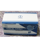 Box of 50 Disposable Protective 3 Ply Earloop Mask USA Stock Free Expedi... - $39.95