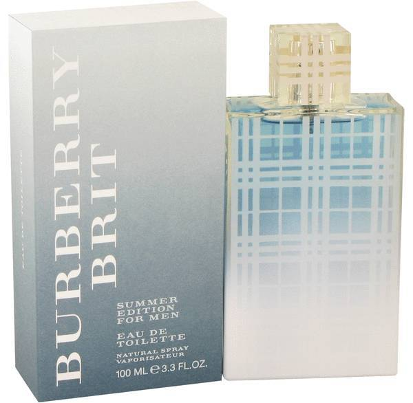 Burberry Brit Summer Edition Cologne 3.3 Oz Eau De Toilette Spray