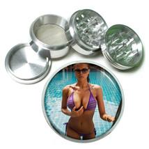 Cuban Pin Up Girls D14 63mm Aluminum Kitchen Grinder 4 Piece Herbs & Spices - $11.05