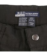 5.11 Tactical Concealed Carry Black Cargo Pants Adjustable Mens 35.5 to ... - £21.61 GBP