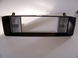 1987 1989 LESABRE LICENSE PLATE SURROUND REVERSE LIGHT RED PANEL OEM USE... - $133.80
