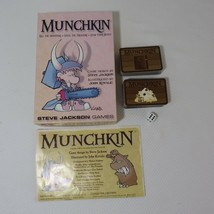 Munchkin Steve Jackson Games 1St Edition Made In USA Complete - $24.70