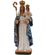Our Lady of Good Success Blessed Virgin Mary 12 Inch Colored Resin Statu... - $29.99