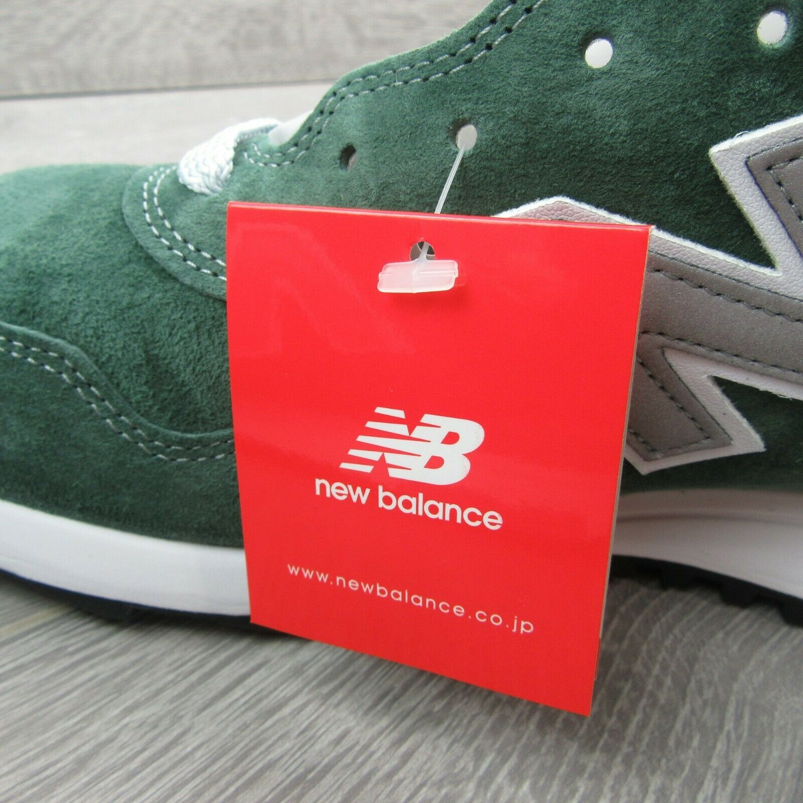 New Balance 1400 Forest Green Running Shoes Size 11.5 Mens Made In USA M1400MG
