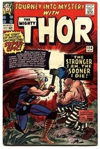 JOURNEY INTO MYSTERY #114 comic book 1965-THOR-1st ABSORBING MAN-KIRBY AR - $187.94