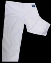 White Scrub Pants Drawstring Waist Uniform Bottom 2XL Adar 504 Unisex New - $19.37