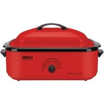 Nesco(R) 4818-12 18-Quart Porcelain Roaster Oven (Red) - $116.12