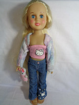 """2000 Hello Kitty Friends Sanrio Doll Julie Complete Outfit & Shoes 15"""" -... - $19.78"""