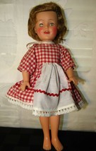 "Vintage Ideal Shirley Temple Doll 12"" Original Dress and slip tagged Exc... - $58.79"