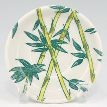 Tepco China Bamboo 4 Piece Breakfast Set Cup & Saucer, Oatmeal Bowl, Plate 2812 image 3