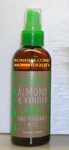 ALMOND VANILLA Essential Oil Fine Fragrance Mist Bath and Body Works - $18.00