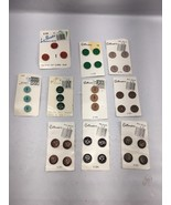 Vintage Buttons Le CHIC Le Bouton  Costumakers Lot of 10 Original cards G1 - $8.99