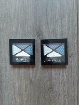 SET OF 2-RIMMEL Glam Eyes Quad Eye Shadow- Shade 004 Smokey Blue NEW - $11.99