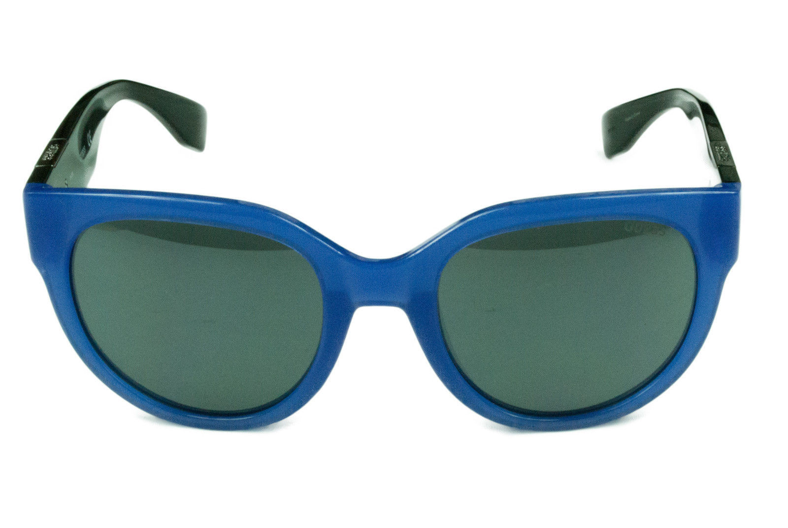 Brand New Guess Womens - GU7439 90A - Shiny Blue/Black w/ Smoke Lens Sunglasses