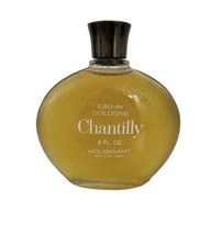Houbigant Chantilly Eau De Cologne 8oz Vintage FULL Vtg New York - $23.08