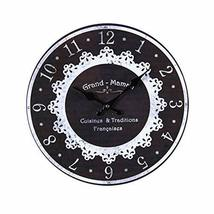 PANDA SUPERSTORE Retro Nostalgia Wooden Wall Clock Vintage Look Home Dec... - $44.34