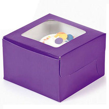 Single Cupcake Boxes 12 Pk Bakery Assorted Soli... - $14.95