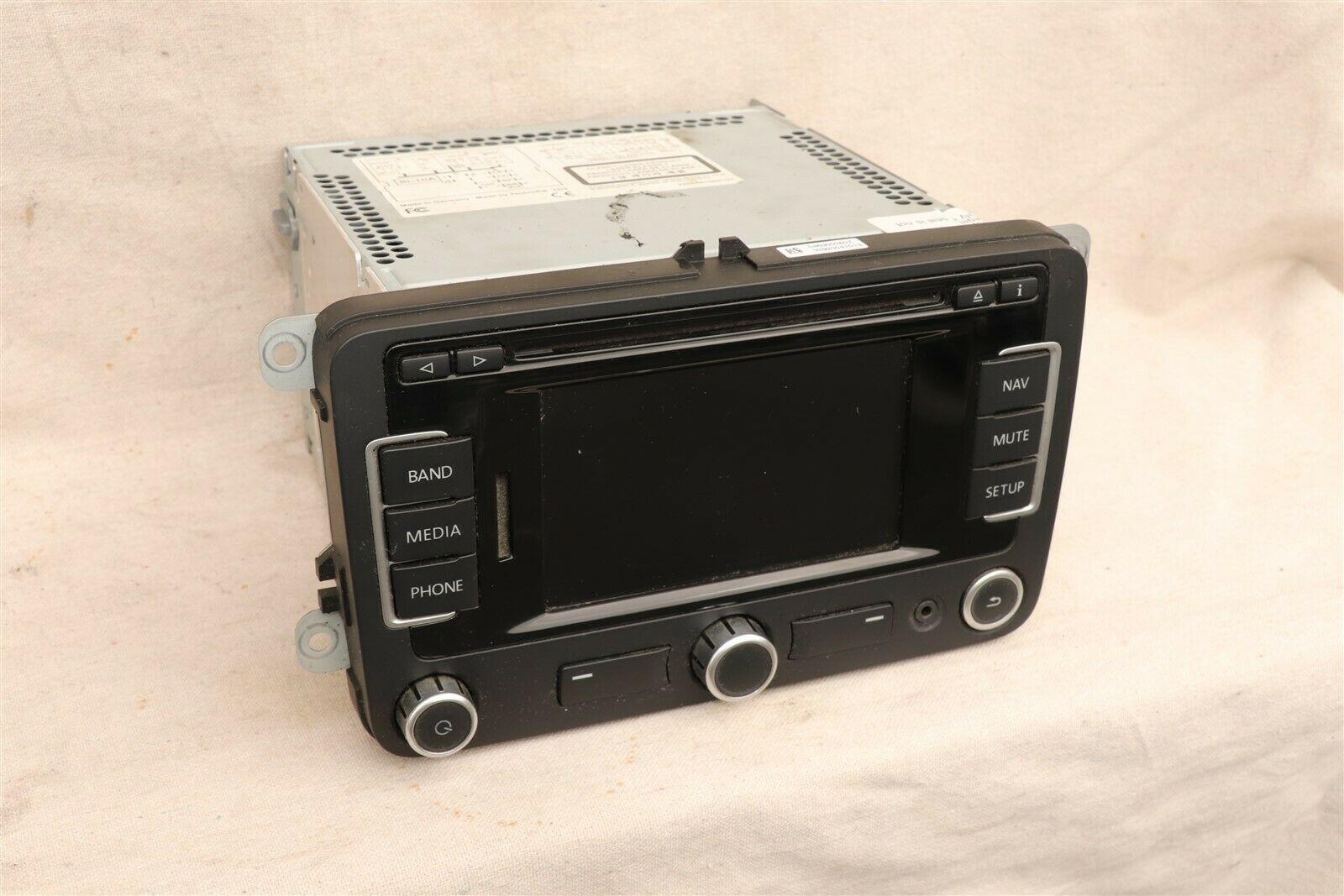 Volkswagen Golf Jetta CC EOS CD Nav Satellite Player Radio Stereo 1k0-035-274