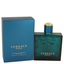 Versace Eros By Versace Deodorant Spray 3.4 Oz For Men - $65.84