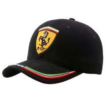 Summer Baseball Caps Women Sun Hats F1 Racing Ferrari Cap Snapback Size  - $31.39