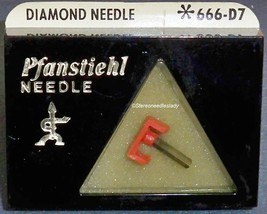 Pfanstiehl 666-D7 for SANYO MG28 ST28 ST-28J TURNTABLE STYLUS NEEDLE image 1