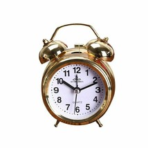 Classic Clock Alarm Round Number Dual Bell Loud Sound Night Light Bedroo... - $16.89