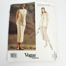 Vogue 1163 Calvin Klein Skirt Top Pattern Size 12 14 16 Pattern Uncut ?? - $18.55
