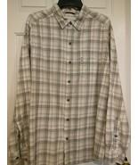 Men's Columbia Sportswear Company Button Down Shirt Size Large 100 % Cotton - $12.46