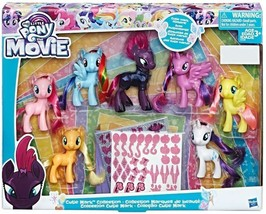 My Little Pony The Movie Cutie Mark Collection Exclusive Figure 7-Pack Set - $57.99