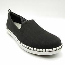 Clarks Cloudsteppers Womens Slip On Sneaker Black Memory Foam Insole Sz 10M NEW - $32.86