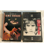2 Cassette Tapes U2 War - George Thorogood The Best Of.  Tested. 1983 1986 - $8.79